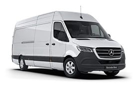 Van available for hire