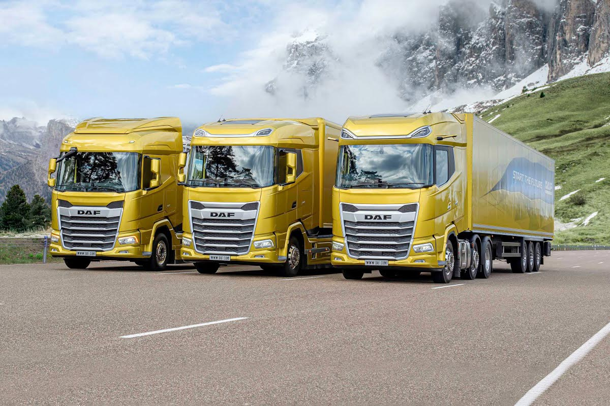 Hexagon are proud to offer the new generation of DAF XF, XG and XG+
